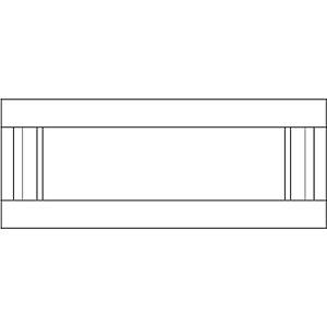 Фасад ящика для кухни Брэра