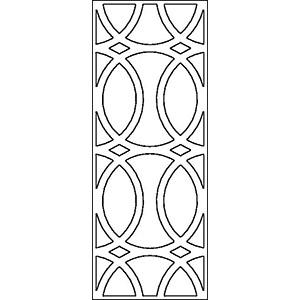 Решетка для фасадов шириной 450 мм