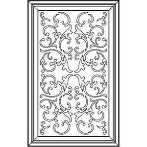 Фасад с декоративной решеткой