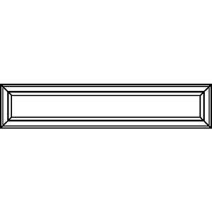 Фасад ящика под духовой шкаф