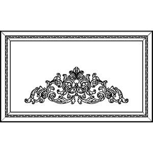 Фасад для портала с декором